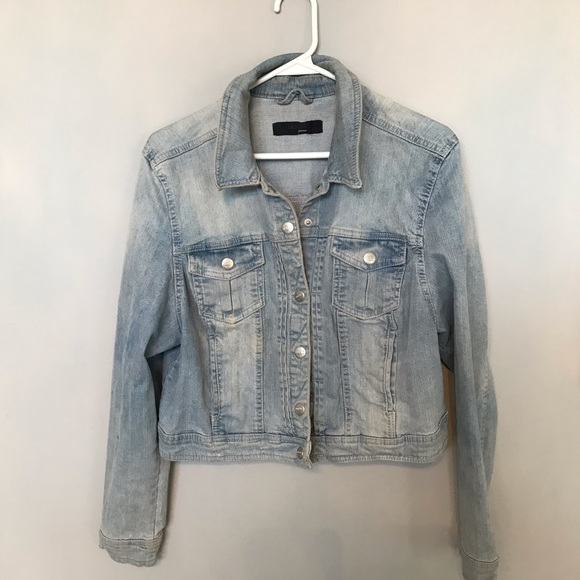Light Blue Jeans Jacket